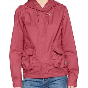 Nwt Only short spring parka Alice pink wine